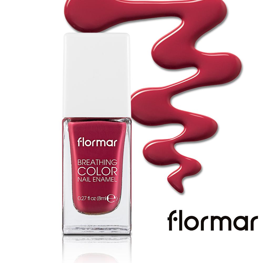 法國Flormar - 漫步義大利-輕羽指甲油 #07 鎖住愛情