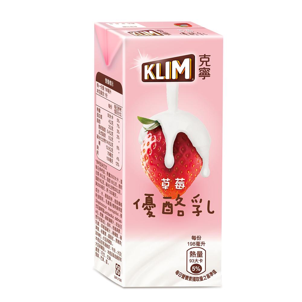 克寧草莓優酪乳(198mlx24入)