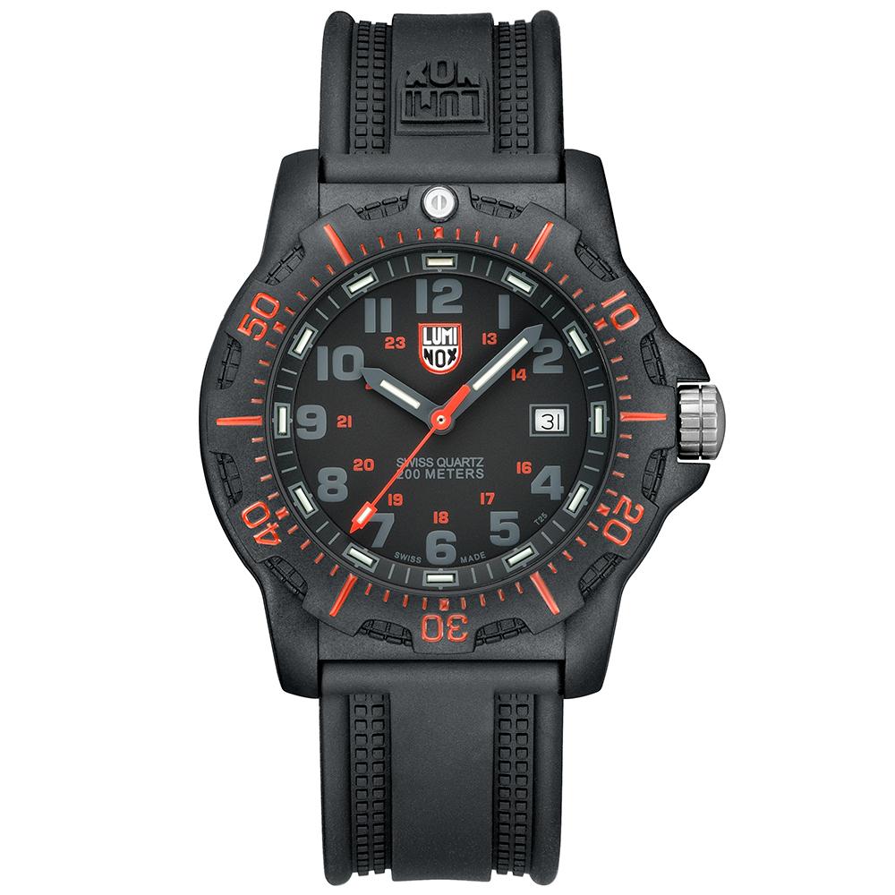 LUMINOX 雷明時 任務系列腕錶-紅/44mm