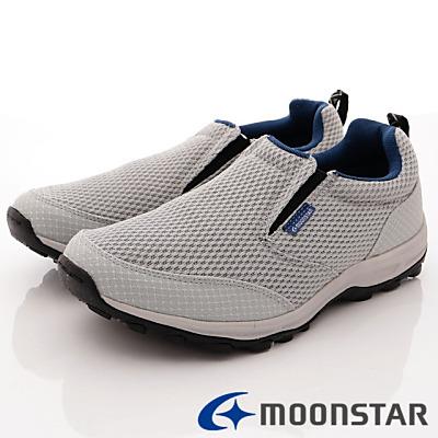 日本Supplist戶外健走鞋-簡約涼感款-ON707灰(男段)