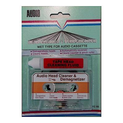 Trio Audio錄放音機濕式消磁清潔帶KC-02(兩入裝)