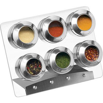 KitchenCraft 附架磁吸調味罐6入