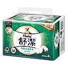 舒潔 棉花萃取特級舒適抽取衛生紙90抽8包x8串/箱