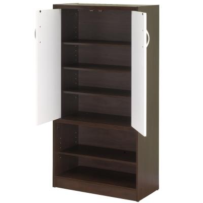極簡-雙色雙門高鞋櫃