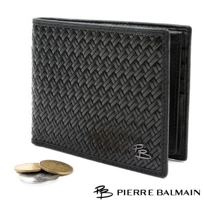 PB-皮爾帕門-時尚編織皮夾P547002