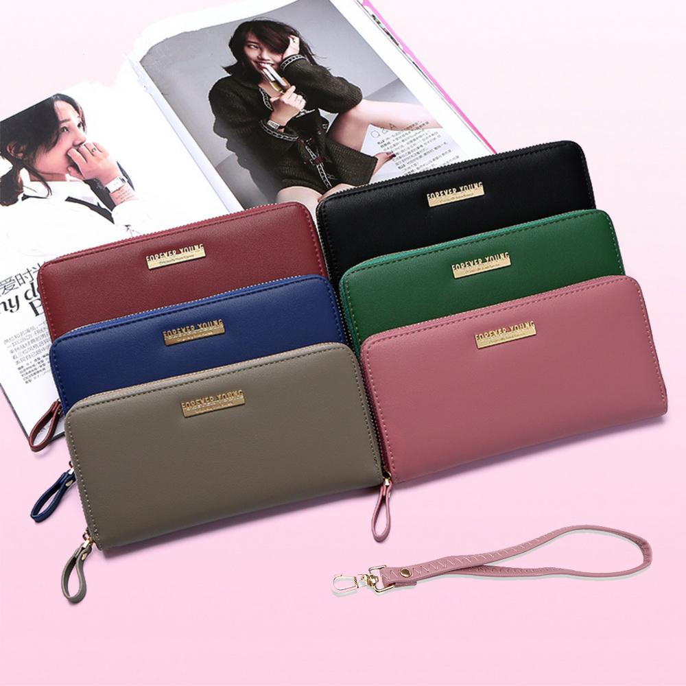 leaper多功能夾層拉鏈手拿包手機包錢包
