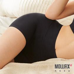 Mollifix 瑪莉菲絲 睡睡塑 循環塑身褲 (黑)