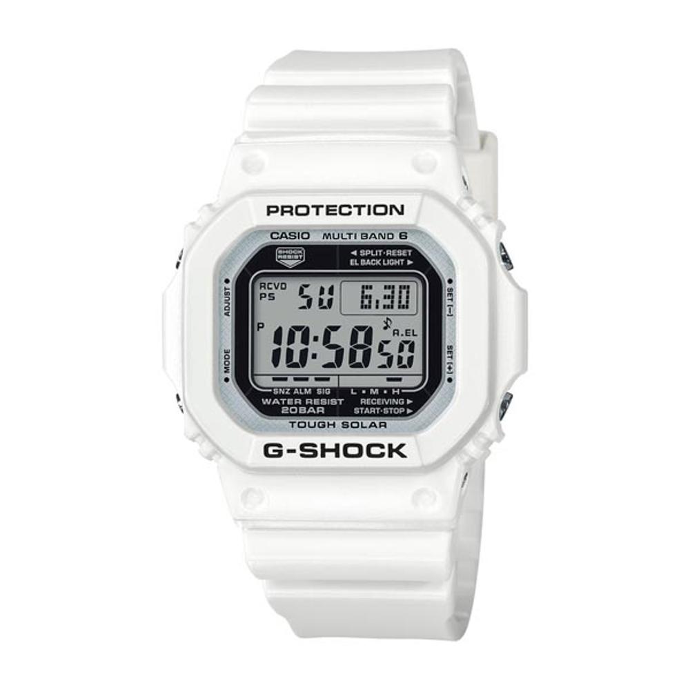 G-SHOCK卡西歐限量海灘派對電波休閒錶GW-M5610MW-7-白