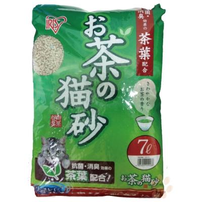【IRIS】綠茶貓砂 7L(OCN-70) 兩包組