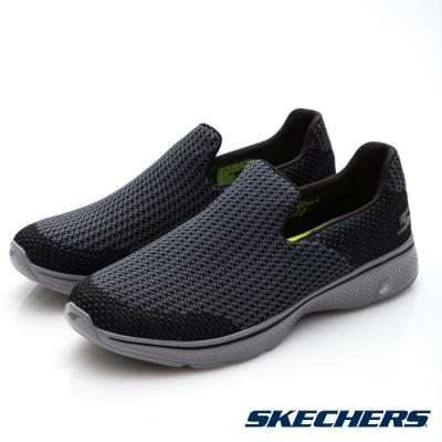SKECHERS (男) 健走系列 GO Walk 4 - 54175BKGY