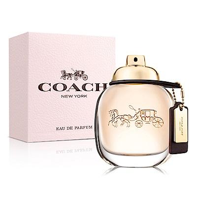 COACH 時尚經典女性淡香精90ml-快速到貨
