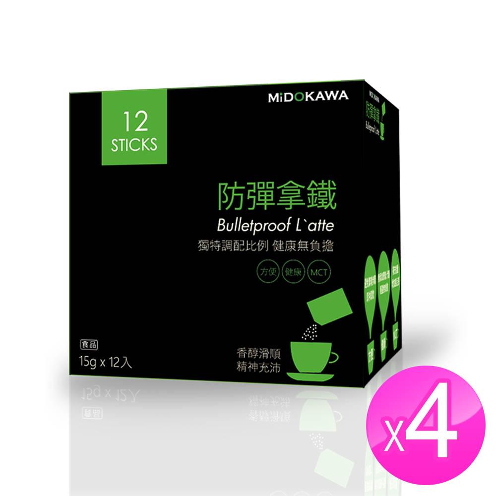 MIDOKAWA美都川 日本話題熱銷 防彈咖啡(15g*12包 超值4盒)