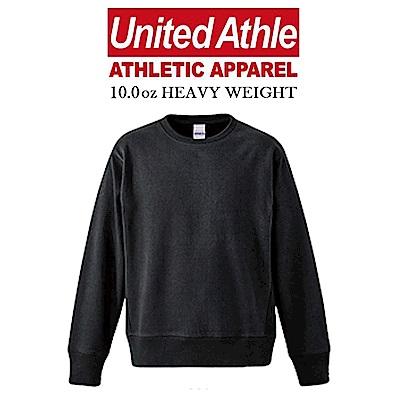日本United Athle 10.0oz重磅磨毛大學服 亞規 情侶 素色