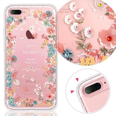 YOURS APPLE iPhone7 Plus 奧地利水晶彩繪防摔手機殼-祕密...