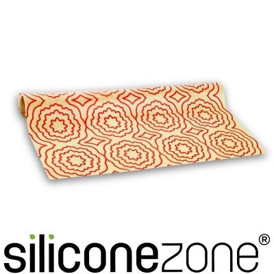 Siliconezone 施理康耐熱矽膠餅乾烤箱墊-亮橘色(大)
