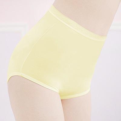 舒適健康親膚M-2XL高腰褲 初暮黃 可蘭霓Clany