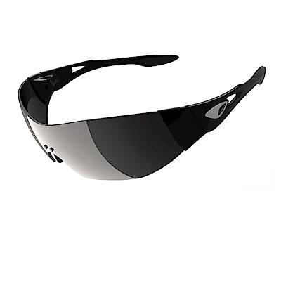 【ADHOC】運動太陽眼鏡-偏光灰片-無框式DARKness
