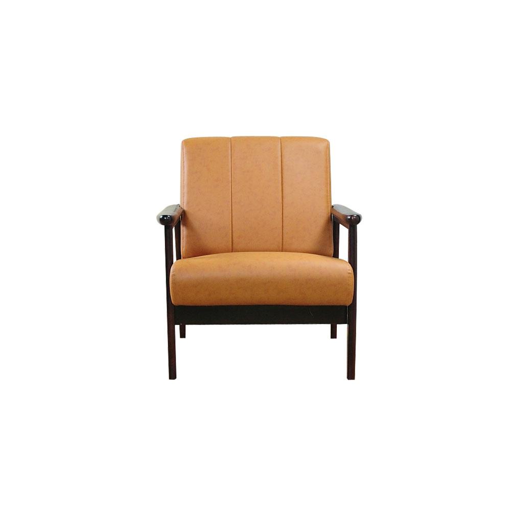 YKSHOUSE 奈良木作單人沙發椅
