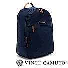 Vince Camuto 尼龍布大容量後背包-藍色