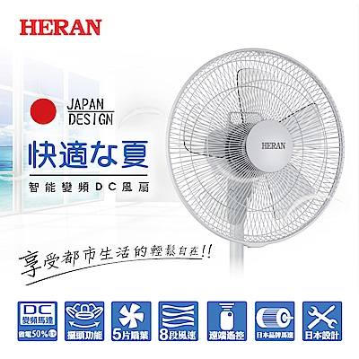 HERAN 禾聯 智能變頻DC風扇HDF-14M1S
