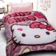 HELLO KITTY摩登豹紋厚毯被 product thumbnail 1