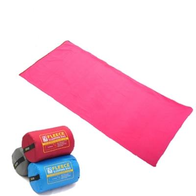 澳洲LONE PINE 輕薄柔軟刷毛信封式睡袋 紅  懶人毯 睡袋內套 被套