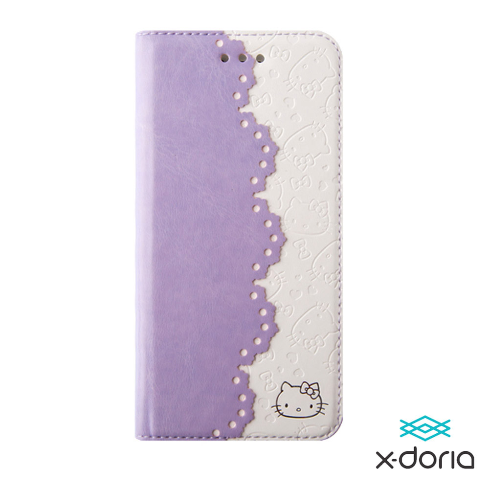 X-doria Hello Kitty iPhone6 4.7吋 皮套-儷人系列