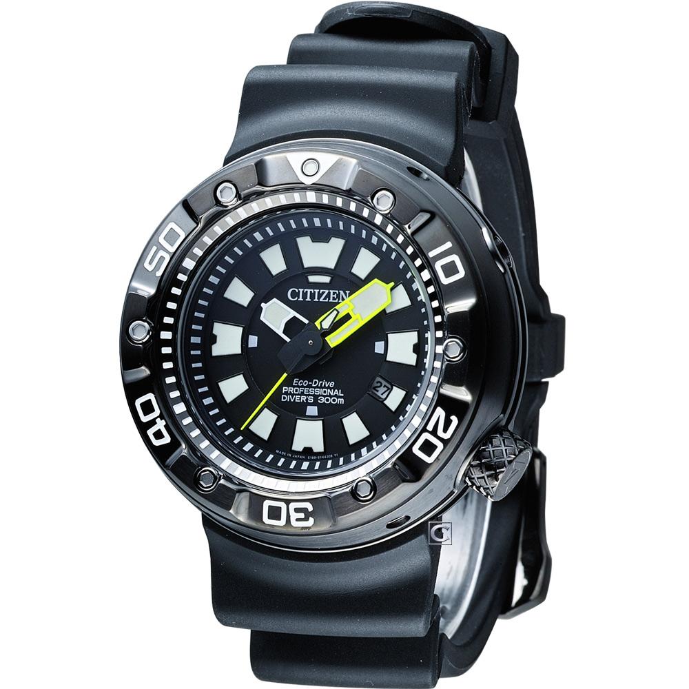CITIZEN PROMASTER 光動能300米潛水錶(BN0177-05E)-48mm