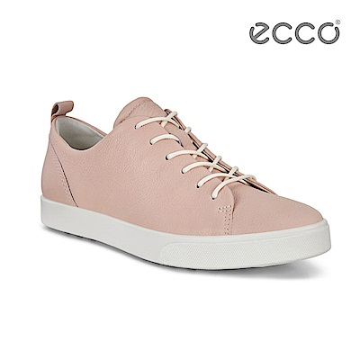 ECCO GILLIAN 質感時尚尖頭休閒鞋-粉