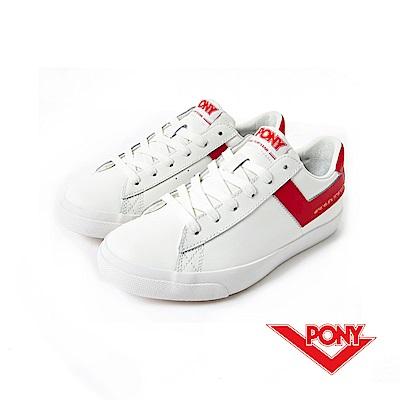 【PONY】TOP STAR 系列-經典復古鞋-女性-紅