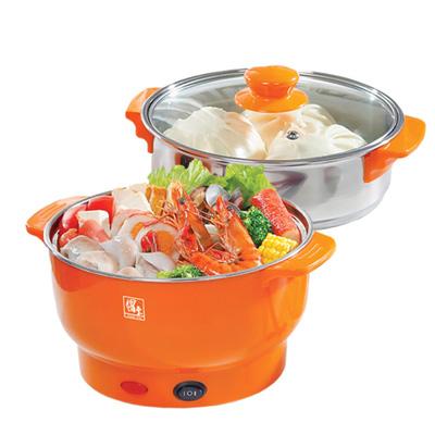 鍋寶 1.8L多功能料理鍋(EC-180-D)煎、煮、炒、蒸、火鍋