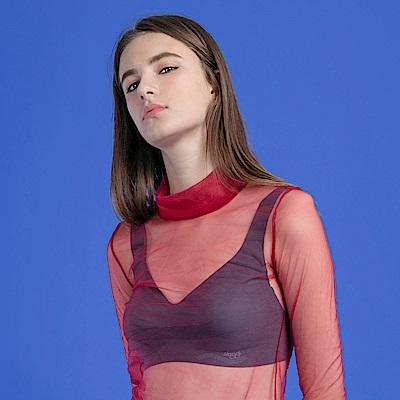 sloggi-ZERO FEEL零感系列V領背心內衣S-EL(靜謐深海藍)