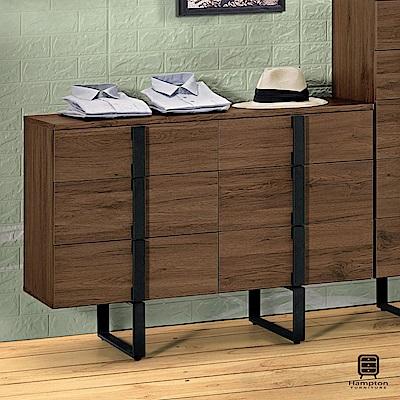 漢妮Hampton莫特系列3.6尺六斗櫃-109x42.3x75.5cm