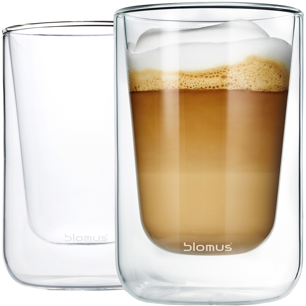 BLOMUS Nero雙層玻璃杯2入(250ml)