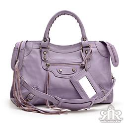 2R 首爾熱賣全羊皮機車包-大版 薰衣淺紫
