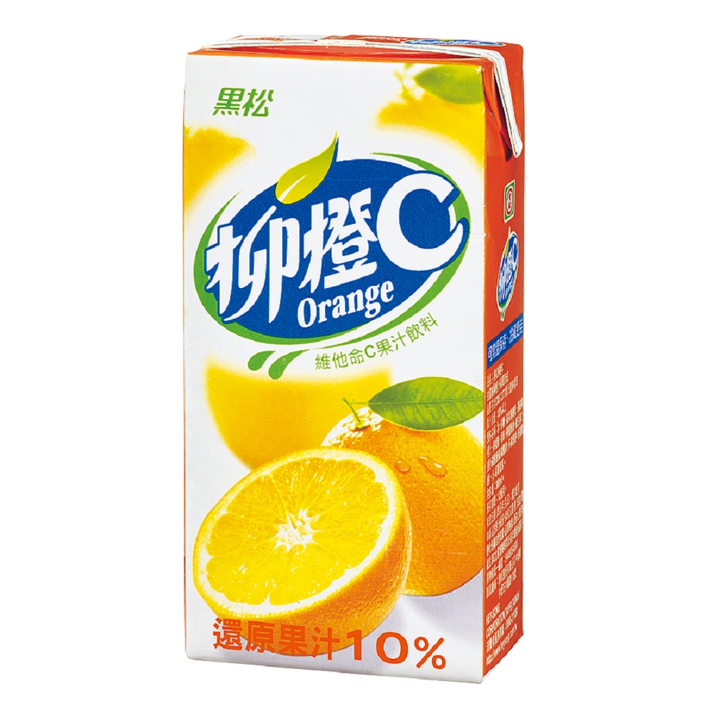 黑松 柳橙C(300mlx24入)
