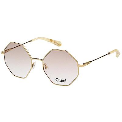 CHLOE 金屬 光學眼鏡 金色 CE 2134