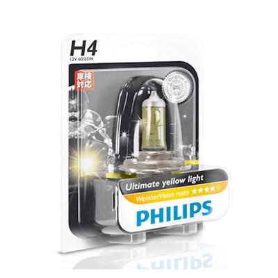 PHILIPS飛利浦2900K金鑽之光WV(H4/HS1)機車用公司貨-急速配