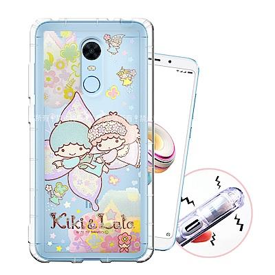 三麗鷗授權 紅米5 Plus 甜蜜系列彩繪空壓殼(蝴蝶)