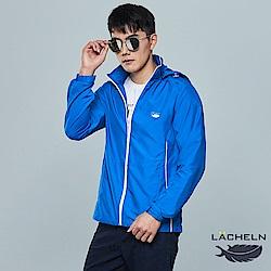 【LACHELN】COOLMAX男拼接防曬外套(L81M501)