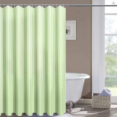 LISAN特級加厚防水浴簾A-011經典不凡 品味超凡-綠