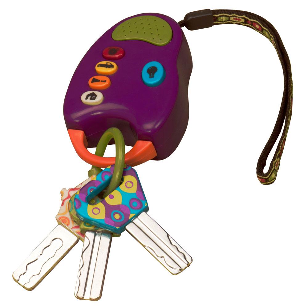 美國 B.Toys 快樂的鎖匙