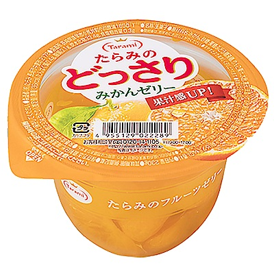 Tarami達樂美 果凍杯-蜜柑(230g)