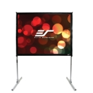 福利品-Elite Screens 120吋 4:3 快速摺疊幕-高增益背投 Q120RV