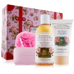 L-ERBOLARIO蕾莉歐 新幸福旅行箱系列-玫瑰禮盒