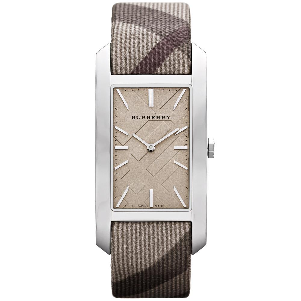 BURBERRY英倫格紋腕錶-25mm