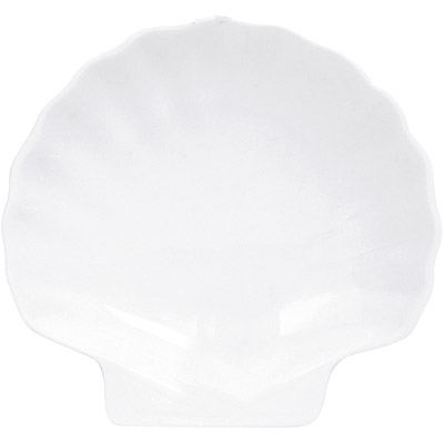 EXCELSA White白瓷貝殼盤(19.5cm)