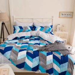 Ania Casa 布蘭卡 單人兩件式 柔絲絨美肌磨毛 台灣製 單人床包枕套兩件組