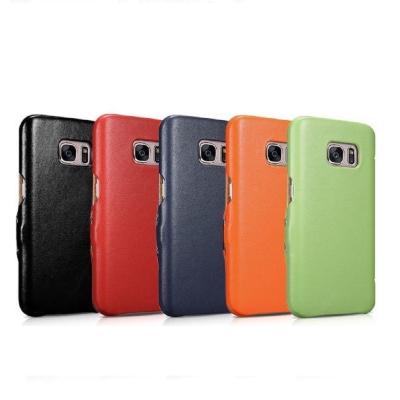 ICARER奢華系列SAMSUNG Galaxy S7磁扣側掀手工真皮手機皮套