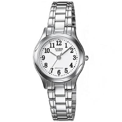 CASIO 時尚典雅服貼舒適腕錶(LTP-1275D-7B)-數字白面/25mm